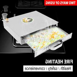 1 Layer Stainless Steel Steaming Tray Food Kicthen Rice Roll