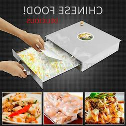 1 Layer Steaming Tray Food Kicthen Rice Roll Steamer Machine