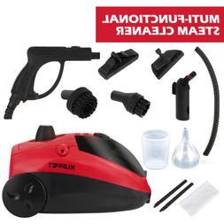 1500W 41Oz Mini Portable Pressurized Steam Cleaner w/Multi-P