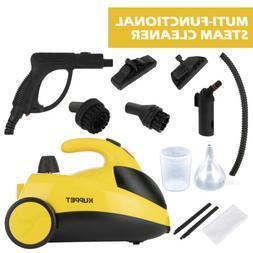 1500W 51Oz Mini Portable Pressurized Steam Cleaner w/Multi-P