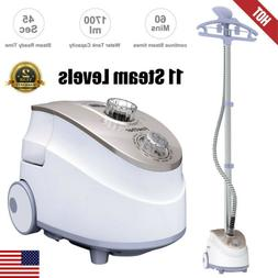 1800W 11-Level 2in1 Portable Stand Garment Steamer Clothes F