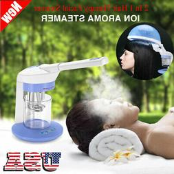 2 In 1 Facial & Hair Steamer Ozone Personal Table Top Skin B