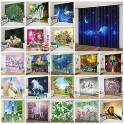 2 panels space unicorn flamingo lion 3d
