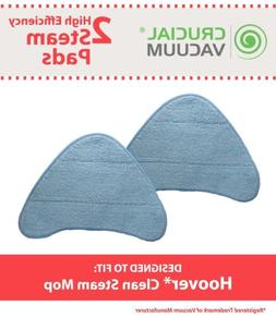 2 Replacements Washable Hoover WH20200 Steam Mop Pads Part #