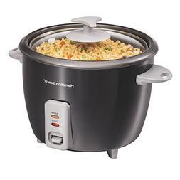 Hamilton Beach 37517 Rice Cooker & Steamer 16 Cup Black