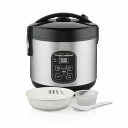Hamilton Beach  Rice Cooker, 8 Cups Cooked With Steam & Rins