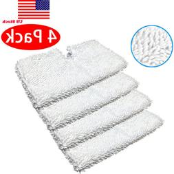4Pack Washable Replacement Pads For Shark Steam Pocket Mop P