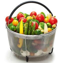 6qt Steamer Basket Compatible w/ Instant Pot Accessories or