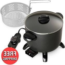 Presto Multi Steamer Kitchen Cooker Non Stick Coating W/ Tem