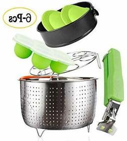 Instant Pot Accessories Set – Fits6,8qt Pressure Cookers -