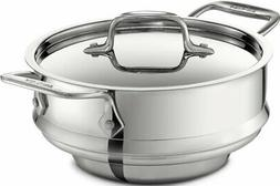 All-Clad 59915 Stainless Steel All-Purpose Steamer with Lid