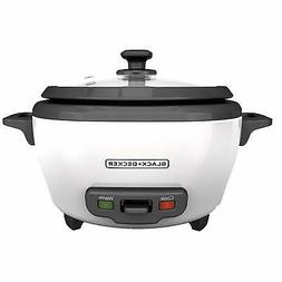 BLACK+DECKER RC506 6-Cup Cooked/3-Cup Uncooked Rice Cooker a