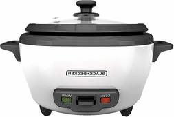 BLACK+DECKER RC506 Rice Cooker Food Steamer 6-Cup Cooked 300