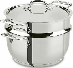 Brand New All-Clad E414S564 Stainless Steel Steamer Cookware