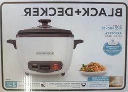 BRAND NEW BLACK AND DECKER 16-CUP RICE COOKER AND FOOD STEAM