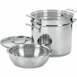 Cuisinart Chef's Classic Stainless Steel 4-Piece 12-Quart Pa