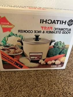 Hitachi Chime-O-Matic Automatic 5.6 Cup Rice Cooker and Stea