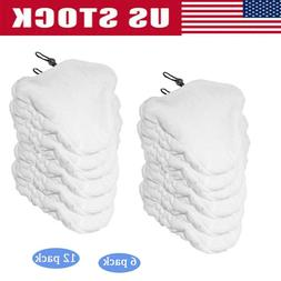 Clean Co. Compatible Steam Mop Pads for Bissell Microfiber T