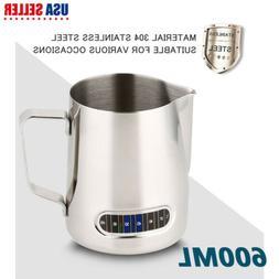 Cream Steaming Pitcher Coffee Milk Frothing Steam Espresso L