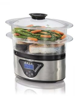 Hamilton Beach Digital Food Steamer - 5.5 Quart