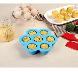 Egg Bites Pot Silicone Instant Accessories Mold Molds 7 Hole