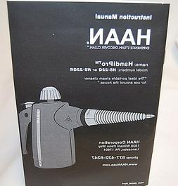 HAAN HS-22Q Handheld Steam Cleaner Portable Pressurized with
