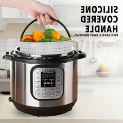 Instant Pot Steamer Basket for 6 - 8 QT Pressure Cooker Acce