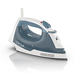 BLACK+DECKER IR40V Easy Steam Nonstick Compact Iron with Aut