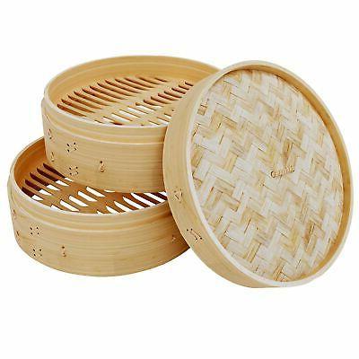10 Bamboo Dumpling Steamer 2
