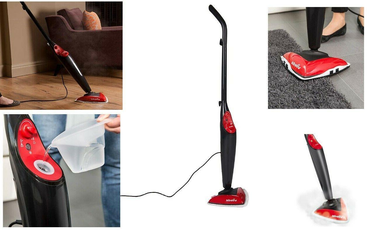 Vileda 100°C Hot Spray Steam Mop Microfibre Cordless Floor