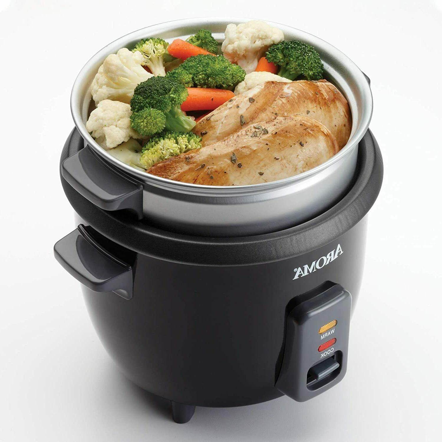 2-6 Cups cooker Steamer Multicooker Housewares ARC-363-1NGB