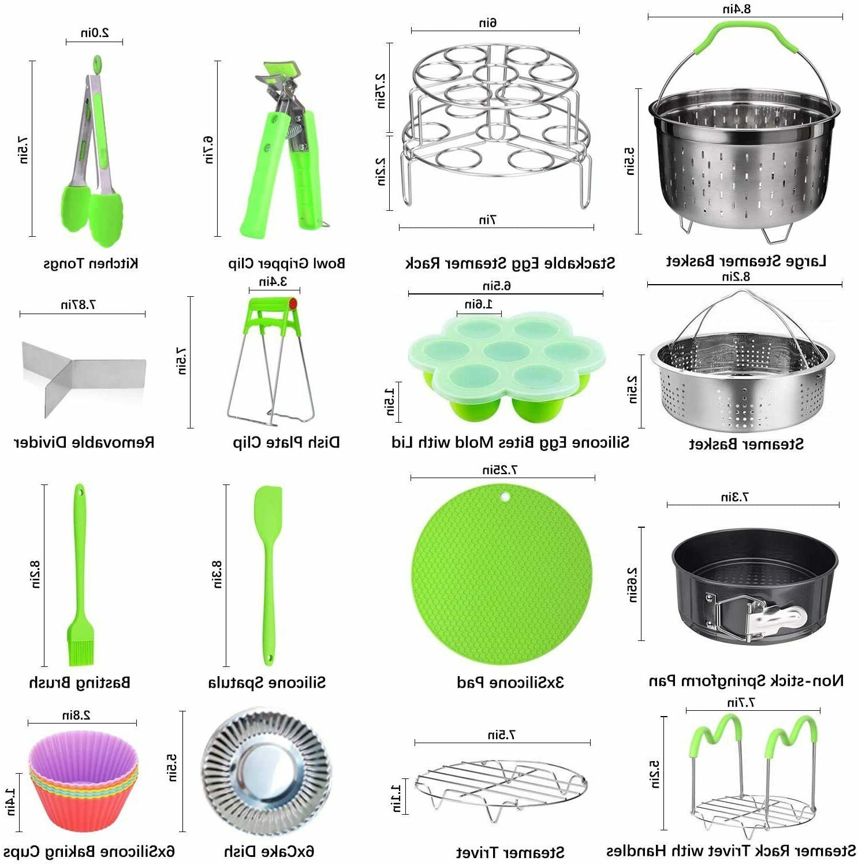 "48 Pcs Accessories Steamer Baskets, 7"" Springform Pan"