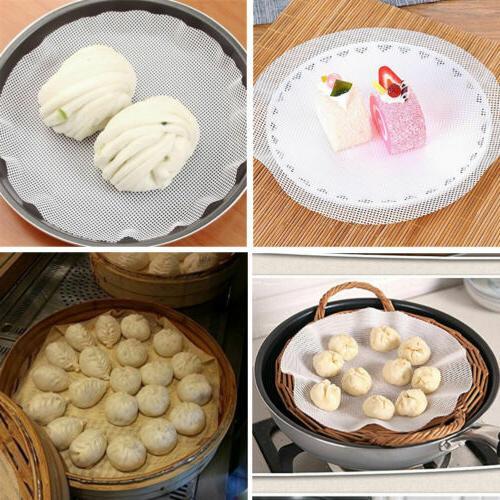 5 Pcs Non-Stick Silicone Round Pad Dumplings