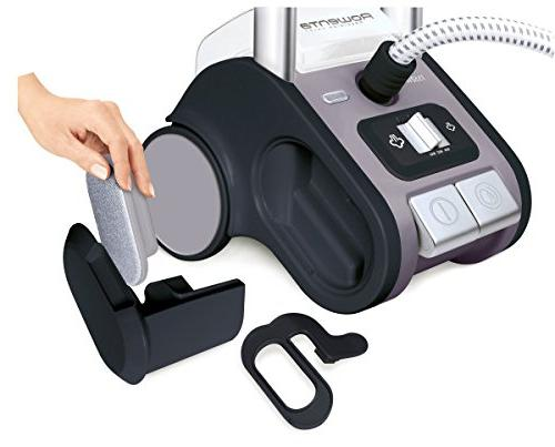 Rowenta Commercial Full Size Steamer Retractable Cord and Steam 1550 Watt, Purple