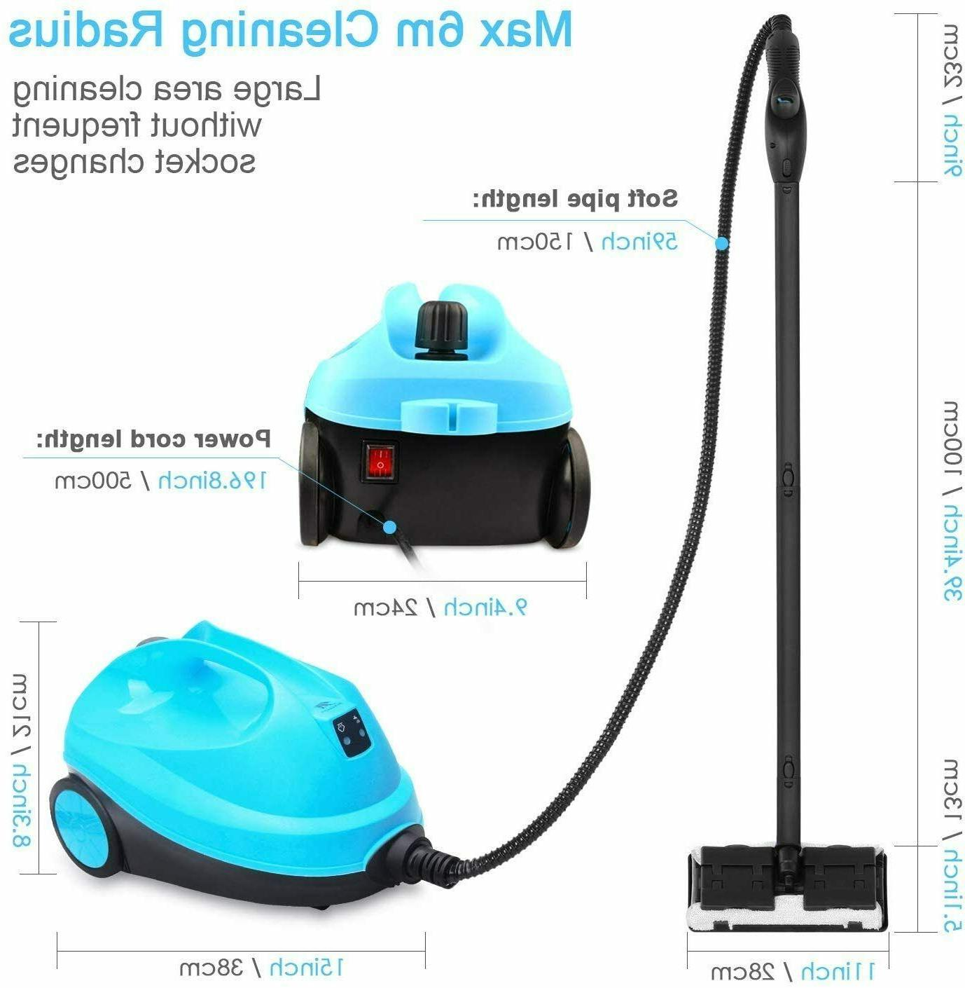 Power Steam Cleaner Water 1500W Capacity