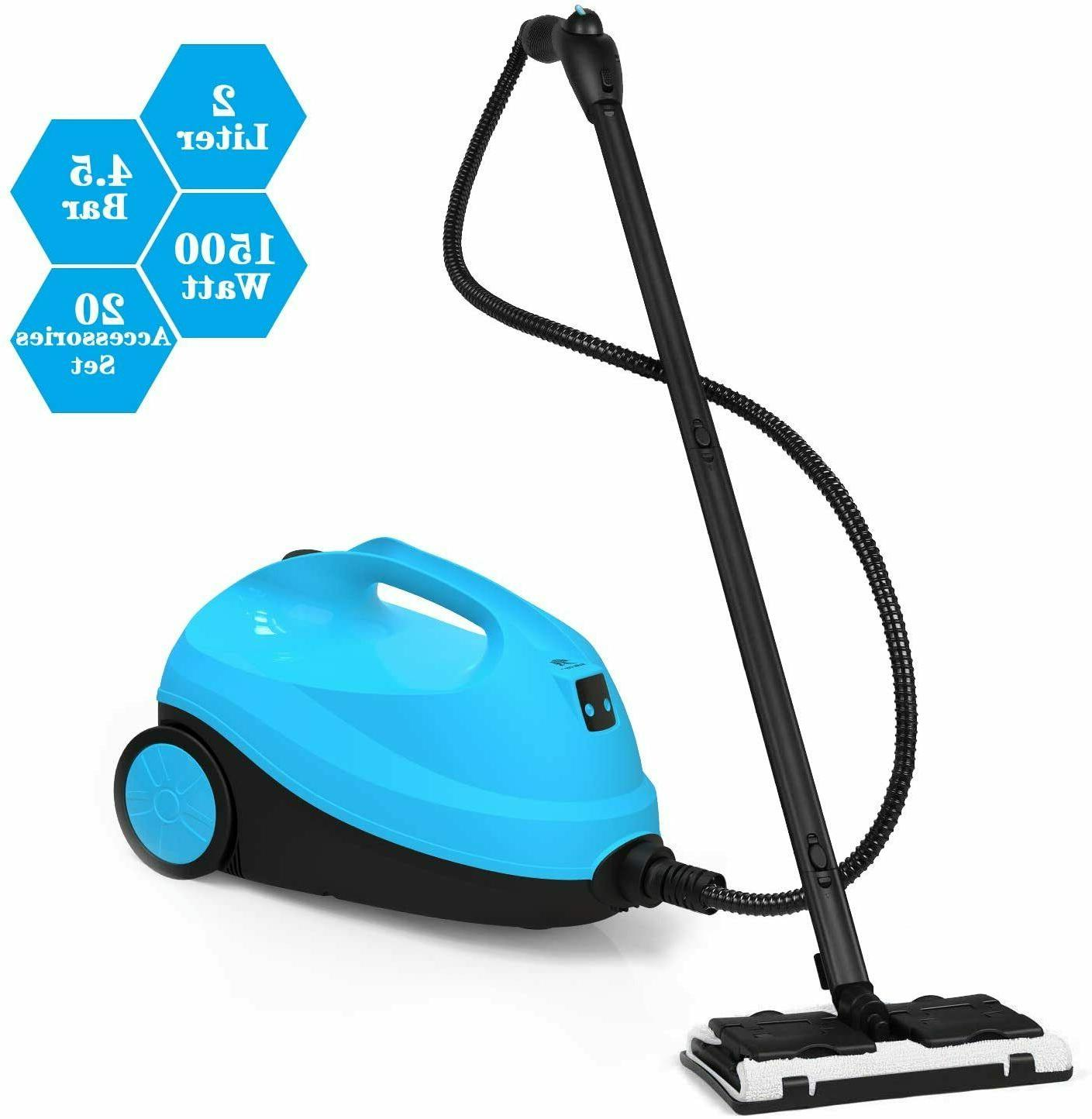 Power Steam Cleaner Water Tank 1500W 1.5L Capacity