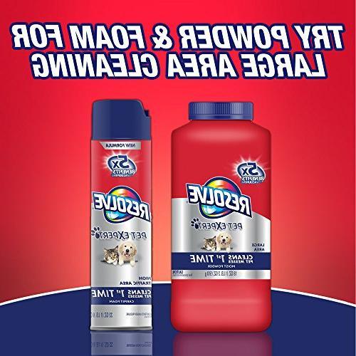 Resolve Steam Solution, Crisp Linen fl oz Bottle, 2X Concentrate
