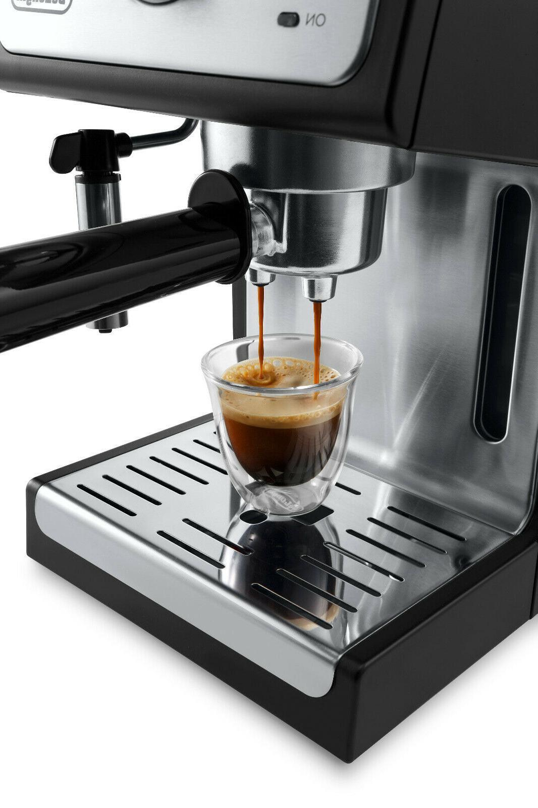 DeLonghi ESPRESSO Milk Steam Frother Latte Coffee