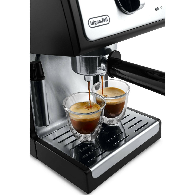 DeLonghi ESPRESSO MACHINE Milk Latte Coffee