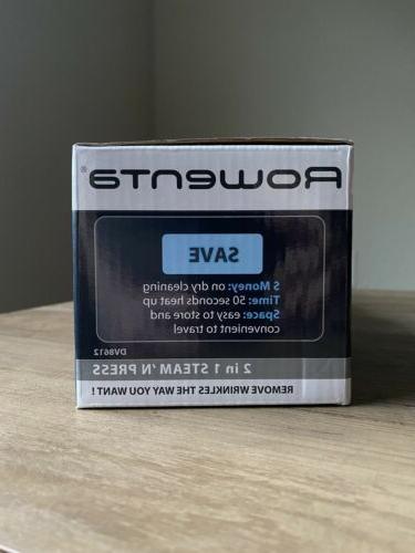 Rowenta in 1 and PRESS 800 WATT & IRON Portable