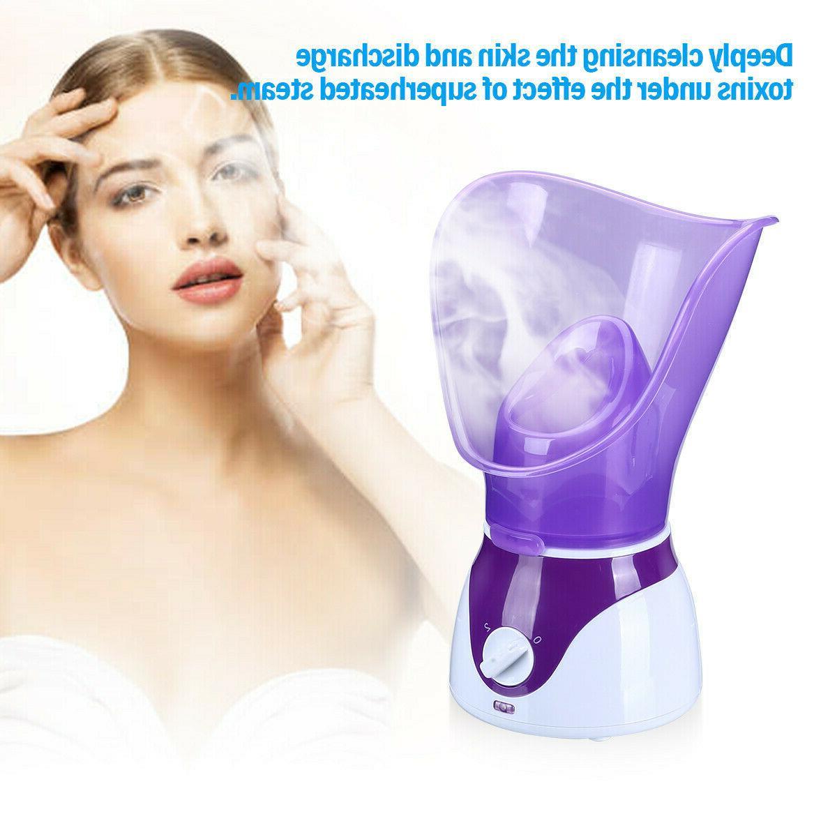 Face Facial Steamer Spa Pores Sprayer Skin Mist Cleaner Steaming Machine