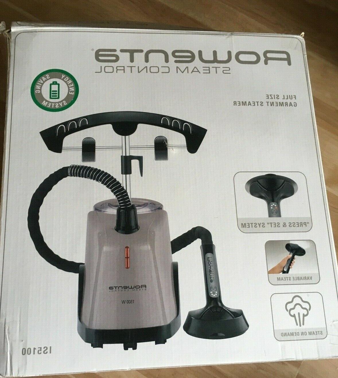 full size garment steamer nib steam control