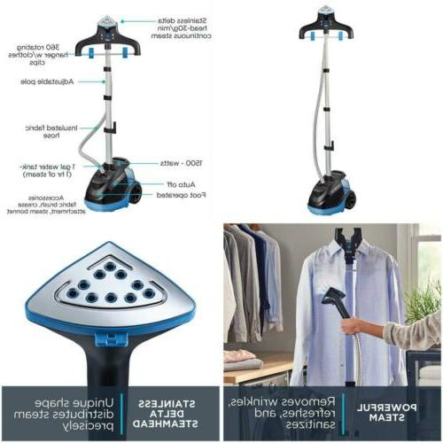 Master 360 Full Size Garment and Fabric Steamer with Rotatin