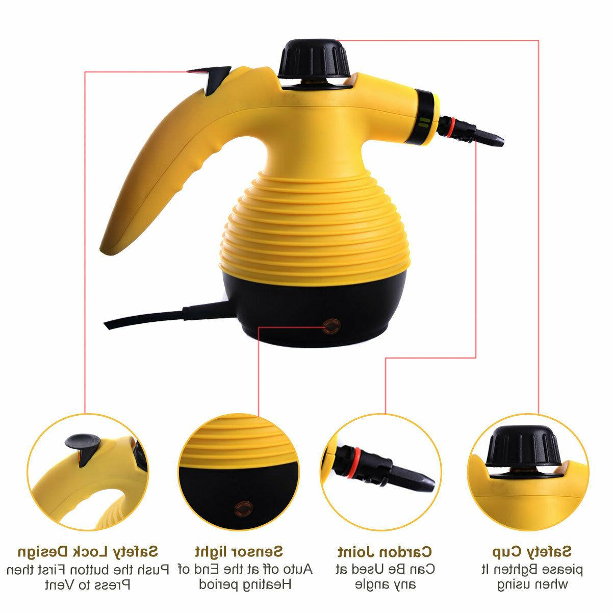 1050W Portable Handheld Steamer Car Cleaning