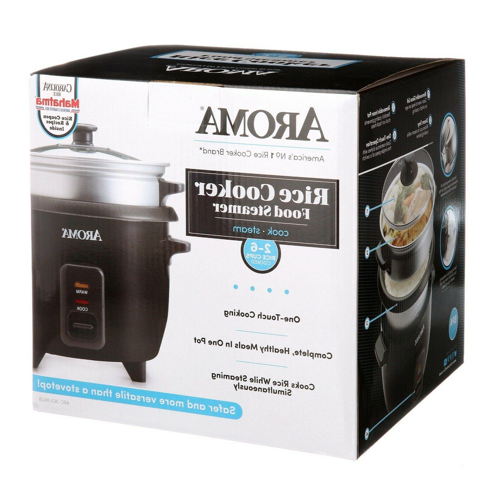 New Aroma One-Touch Cooker ARC-363-1NGB-