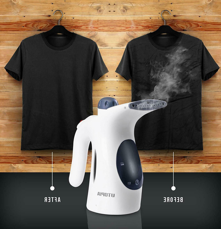 Handheld Garment Steamer 250 ml Watt Steamer Utopia