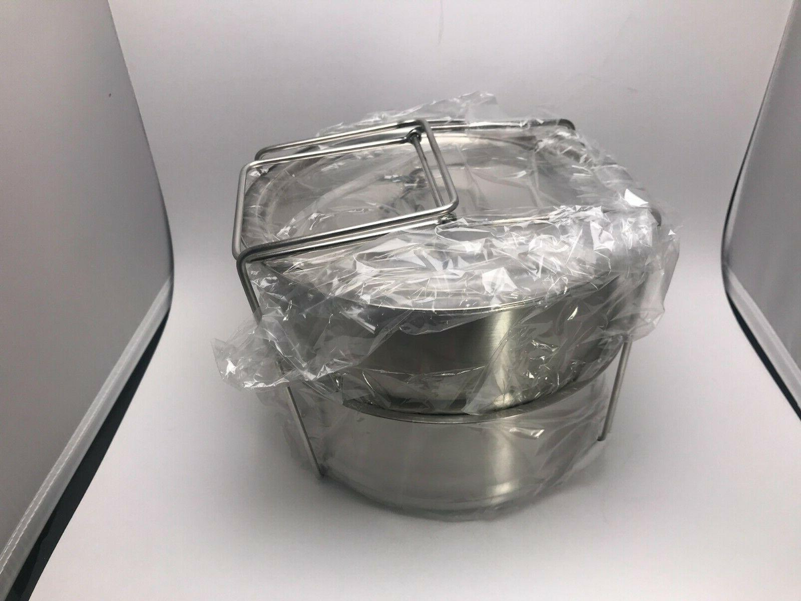 Instant Pot -8 Stackable Stainless Steel