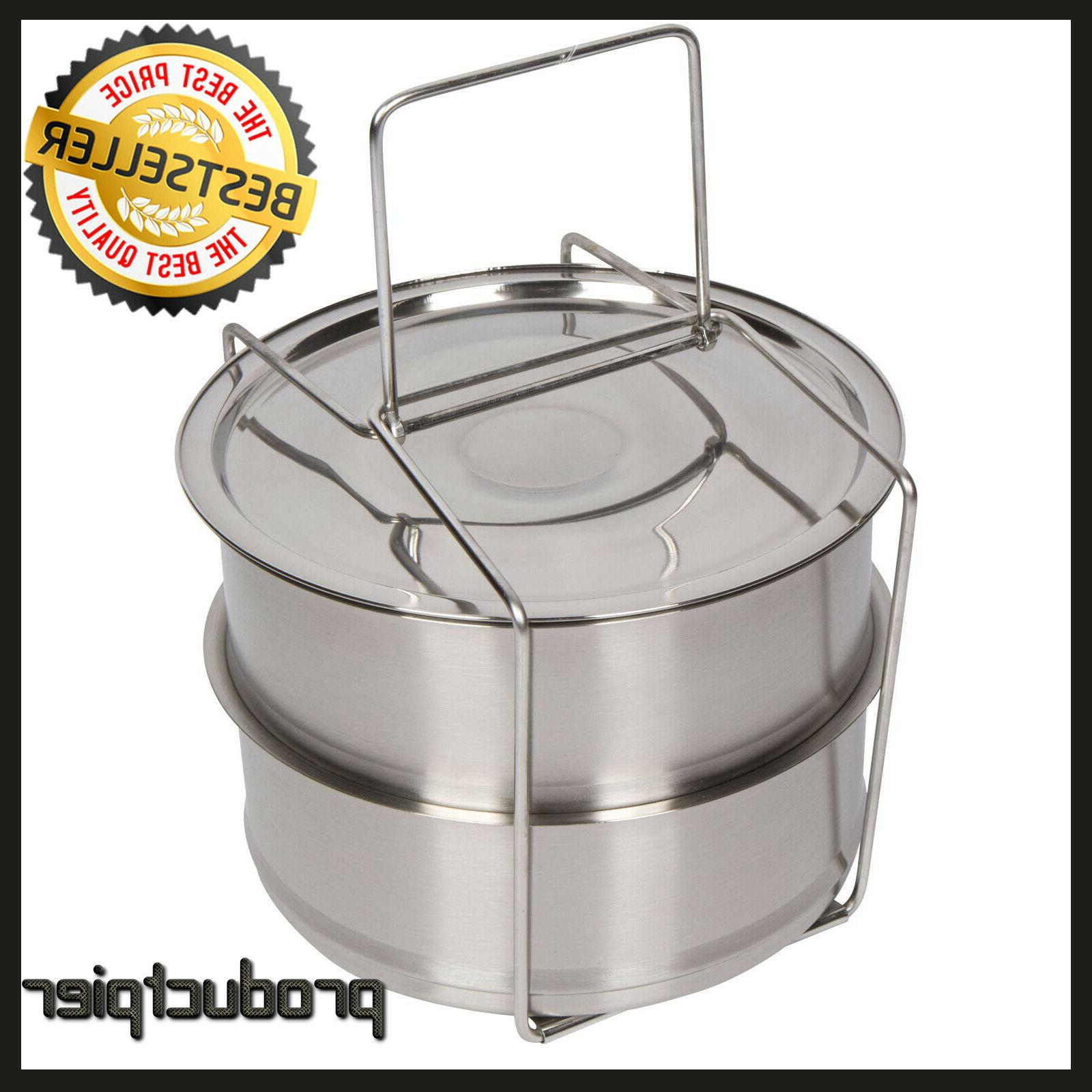 stainless steel steamer 6 8qt pressure cooker