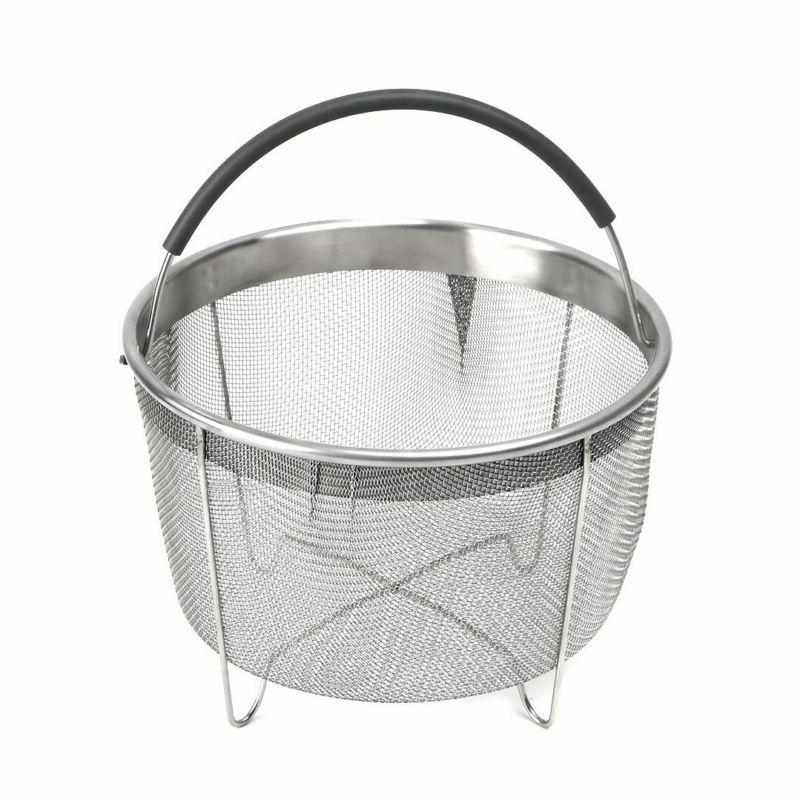 Stainless Steel Steamer Basket With Handle For Instant Pot 6