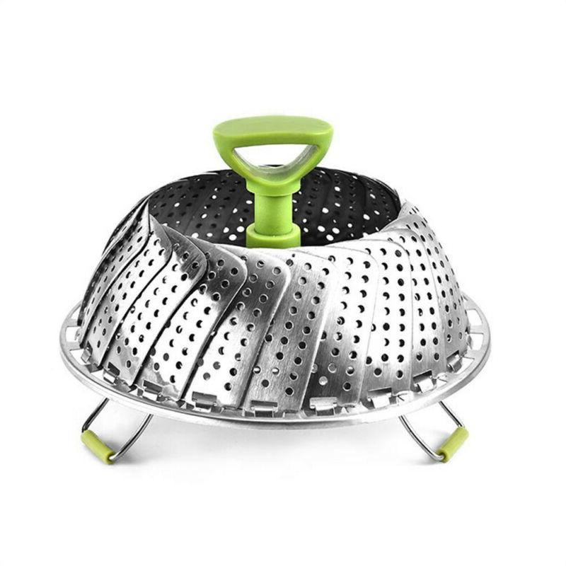Stainless Vegetable Steamers For Cooking Folding Steamer